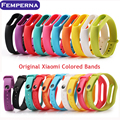 Colorful Replace Belt for Xiaomi Miband 2 Smart Wristband Silicone Strap For Xiaomi Mi Band 2