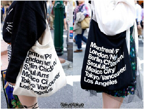 European and American style fashion trend Hot Selling 2015 American Apparel Canvas Shoulder Bag Messenger shopping Bag(China (Mainland))