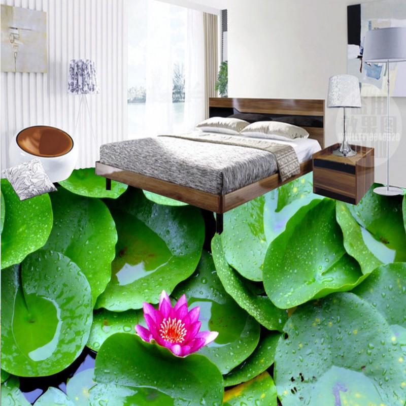 Online kaufen gro handel lotus blumentapeten aus china for Boden ziegel
