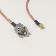 Увч вилочная часть вилка коннектор переключатель SMA соединение вилочная часть вилка коннектор RG142 50 см 20 » адаптер низкая — ослабление