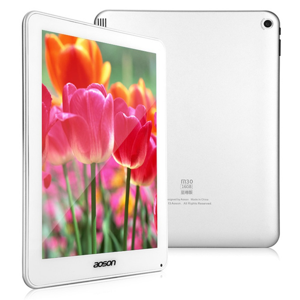Wholesale 9 7 Retina Screen Aoson M30Q Android 4 2 Tablet PC Quad core RK3188 5MP