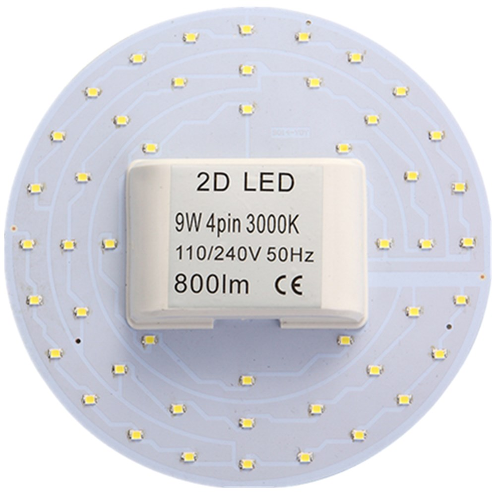 2D LED Lamp Retrofit Ceiling Light bulb 10W 15W SMD 2835 220v 230V LEDs Replacement Bulbo energy save Lamps GR10Q new 2015(China (Mainland))
