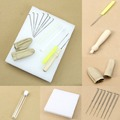 F85 Free Shipping 1set Needle Felting Starter Kit Wool Felt Tools Mat Needle Accessories Craft