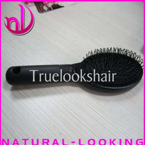 Free shipping loop Brush for hair extensions,Loop Brush for wig,professional hair combs(China (Mainland))