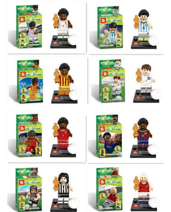 Football Players Toys For Toddlers : Popular lego football aliexpress