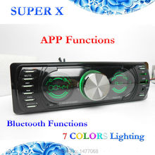 In Dash Double Screen LCD Car Audio Stereo Radio MP3 WMA ID3 Bluetooth Player APP Functions(China (Mainland))