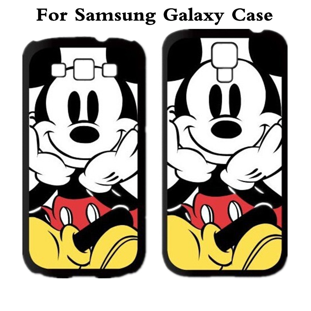 Mickey Mouse Protective Cover Case Samsung Galaxy Note 2 3 4 5 S3 S4 S5 S6 S7 edge J Series MINI Grand Prime - Shenzhen RYG group co., LTD store