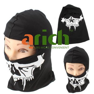 SWAT Balaclava Hood 1 Hole Head Skull Face Mask Protector