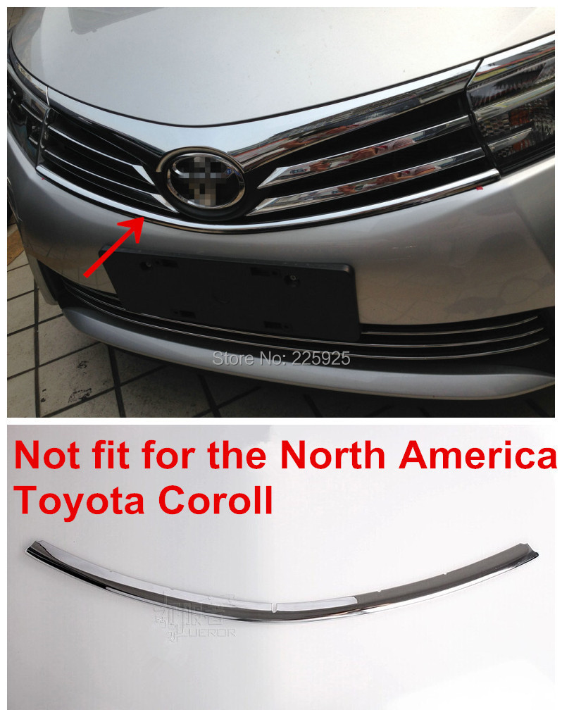 Front Center Grille Grill Cover Trim Toyota Corolla ALTIS SEDAN 2014 - Top-parts's store