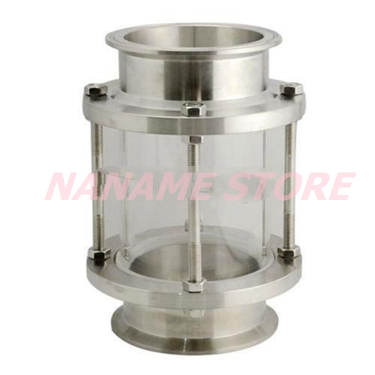 Quot mm flow sanitary sight glass tri clamp type
