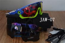 2015 new fashion 3 lenti di marca polarizzati jawbreakered occhiali da sole per uomo donna outdoor sport goggle occhiali da sole(China (Mainland))