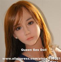 НОВЫЙ #85 реалистично силиконовые манекены для реалистичного секс кукла, реальные куклы голова с оральный секс, продукты секса(China (Mainland))