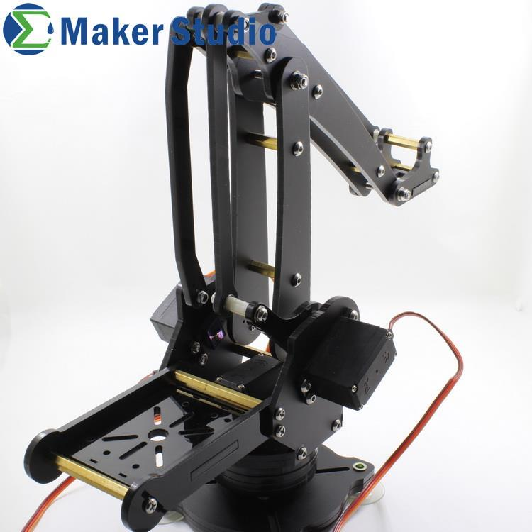 Free Shipping Robot Arm with 4 Metal Gear Servos, 3 MG995 and 1 MG90S<br><br>Aliexpress