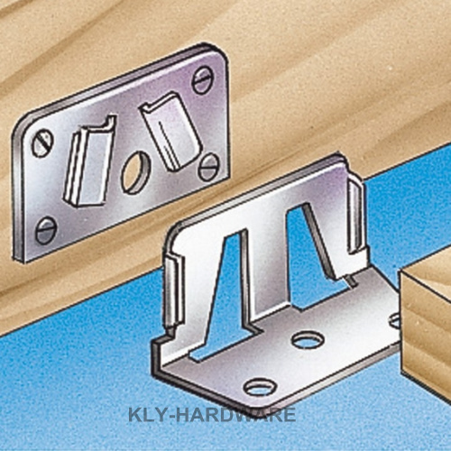 70mm Centre Rail Bed Bracket Set Mattress Support Fasteners ,bed rail brackets,bed hardware(China (Mainland))