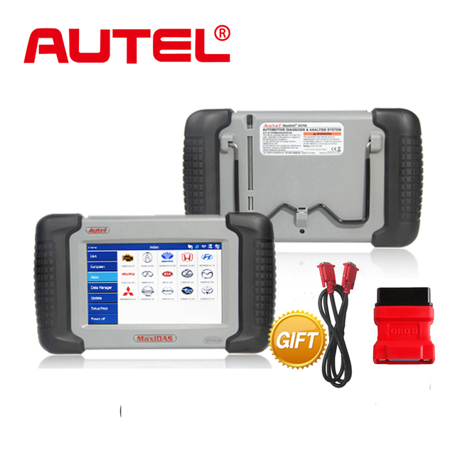 Autel MaxiDAS DS708 Full System Automotive Diagnostic and Analysis System with live data ECU programming Key Coding TPMS Pro