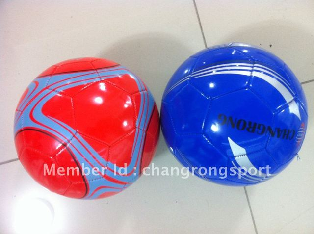 PVC Machine Stitched SOCCER BALL