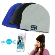 Bluetooth Earphone Hat for iPhone Samsung Android Phones Men Women Winter Bluetooth Stereo Music Hat Wireless BZ880641(China (Mainland))