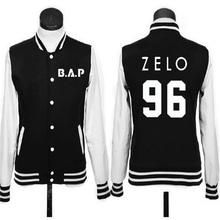 Kpop bap baseball men women clothing leisure suit jacket k-pop BAP rabbit head autumn winter hoodies sweatshirt Outerwears