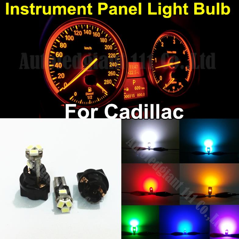 60x T5 74 Led Dashboard Speedometer Gauge Indicator Light: 10pieces T5 Instrument Cluster Panel Bulbs And Socket Led
