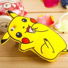For Coque iPhone 6 Case Silicone 3D Cute Pok mon Case iPhone 6 Cover Silicon Pokemons Case For Fundas iPhone 6 6S Plus 5 5S SE(China (Mainland))