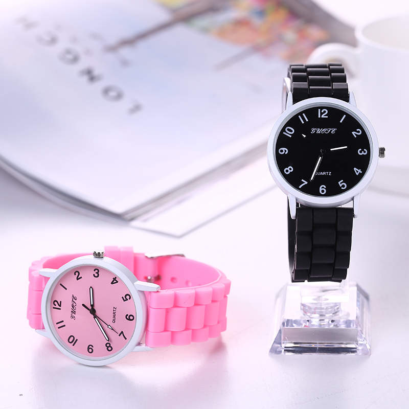 2016 GUOTE new fashion Classic Geneva watches women Silicone quartz Watch Jelly women dress watch relogio feminino free shipping(China (Mainland))