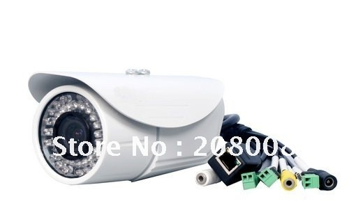 Waterproof Box IP Camera, IR IP Cameras , CMOS megapixel IP Camera,Free shipping(not including remote areas)