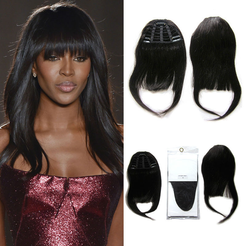 Human Hair Bangs Remy Clip In Hair Extension Bangs Human Clip On Bangs Human Hair Fringe Bangs Clip In