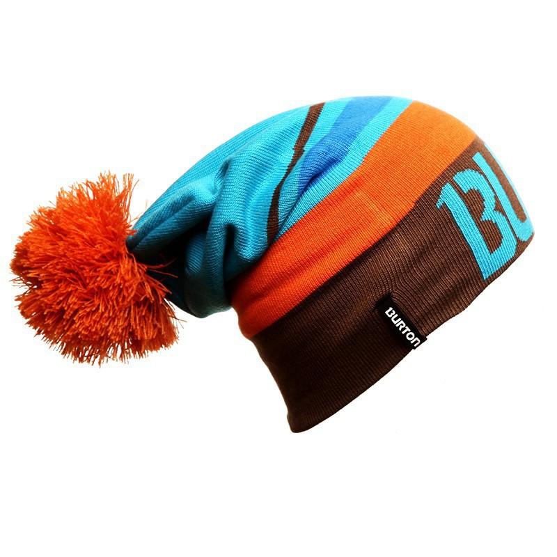 Winter Warm Wool Burton Snowboard Knit Ski Skating Lot Wool Caps Brand Hats Skullies Beanies For Men Women Gorros De Lana(China (Mainland))