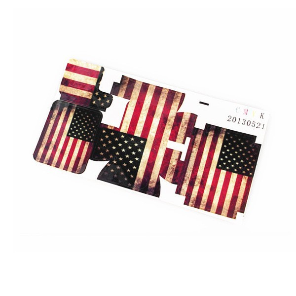 New Fashion American Flag case Sticker housing old type stickers go pro Accessories for gopro Hero