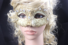(36 pieces/lot) New Pulp Lace Halloween & Masquerade Supplies Multi Color Half Face Venetian Ball Masks - Dance with a Mask! store