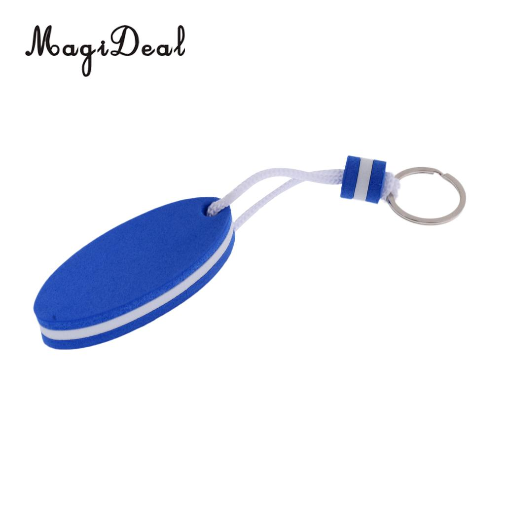 MagiDeal Boating Kayak Floating key Chain Marine Keychain Shoreline Sailing Key Ring Clip Key Ring that Floats to Save Your Key