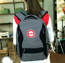 Pocket Monsters Pokemon Go Cosplay Harajuku Backpack School Bag