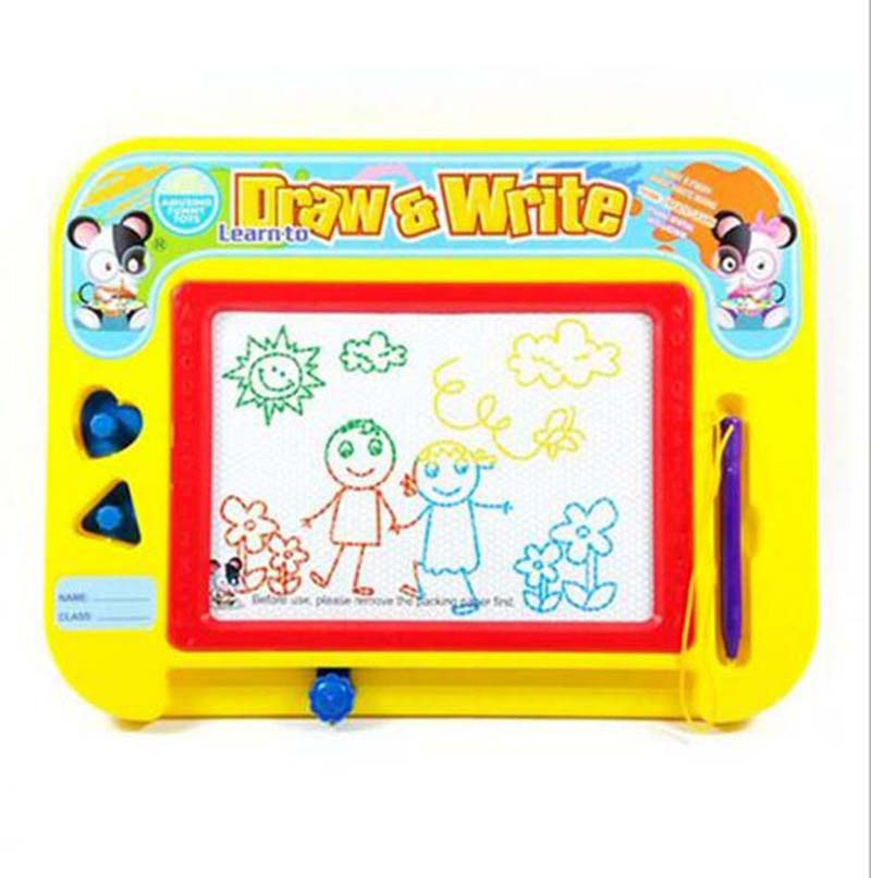 Magnetic Board Children's Educational Toys Learning Education Drawing Toys Child Baby Writing Drawing Board Good Gift For Kids(China (Mainland))