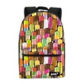 ONE2 Design colorful 600D polyester school bag laptop backpack ice cream for university students women man