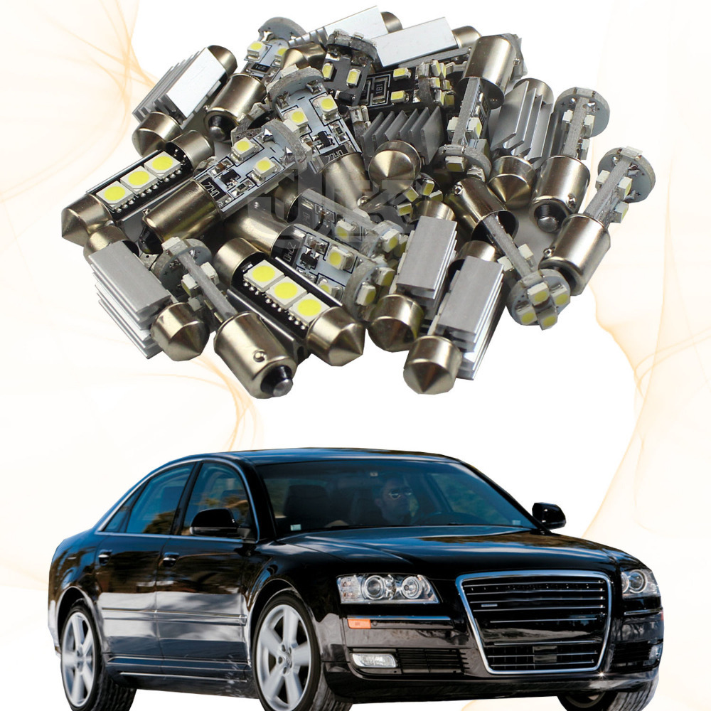 2013 Audi A8 Interior: 13xWhite Canbus Led Interior Light Kit For Audi A8 S8 (D3
