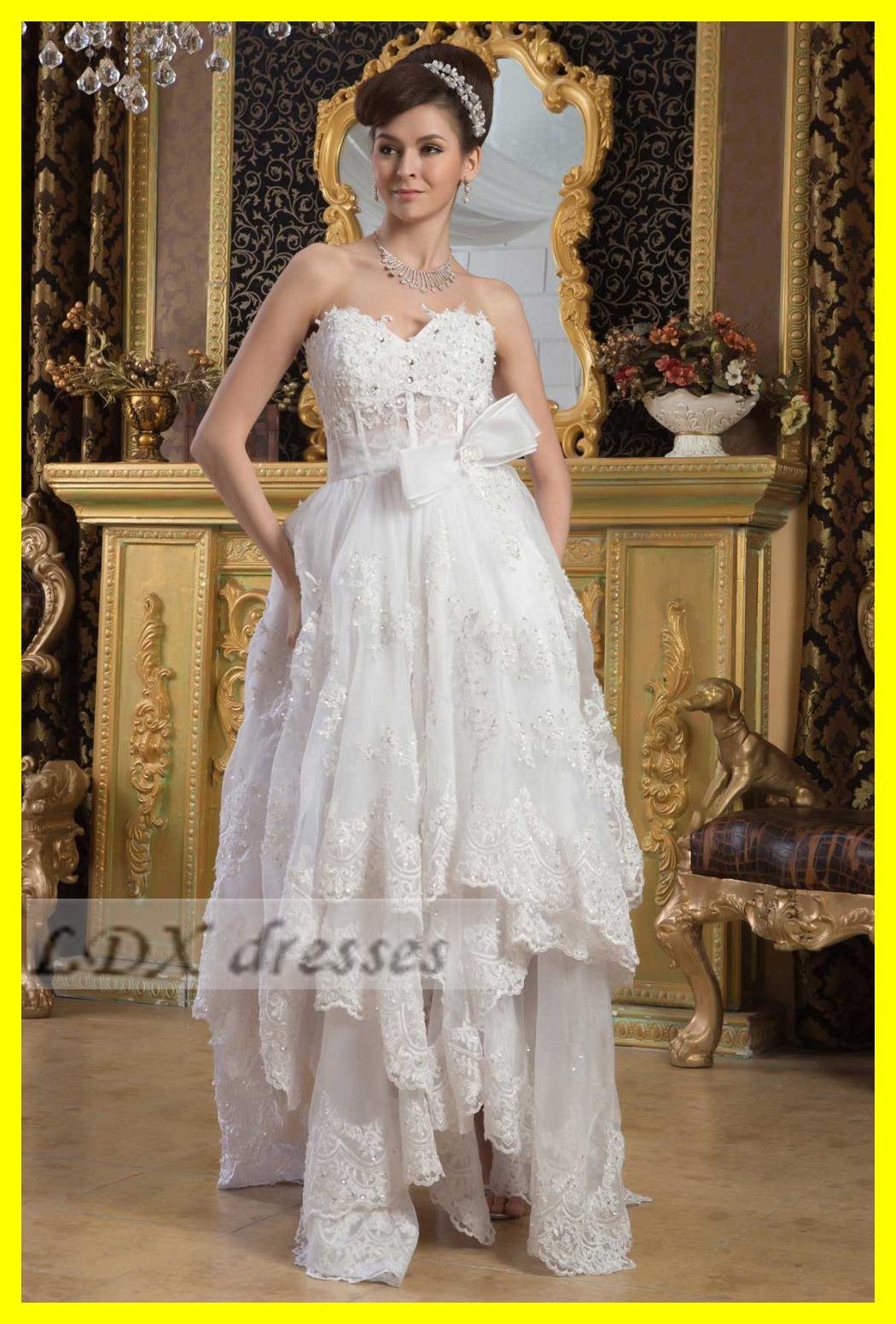 Off White Wedding Dresses Casual Beach Dress Baby Weddings A Line Floor Length None Appliques