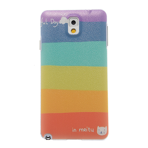 Phone Cases Samsung Galaxy Note 3 case Note3 Scrawl colored drawing back cover mobile phone bags & cases Brand New coque - 5th Avenue Store (Shanghai store Co., Ltd)