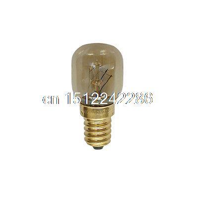 WSDCN E14 T25 25W 120V 125V 110V~130V Oven Light Bulb Heat Resistant Bulb 300'C(China (Mainland))