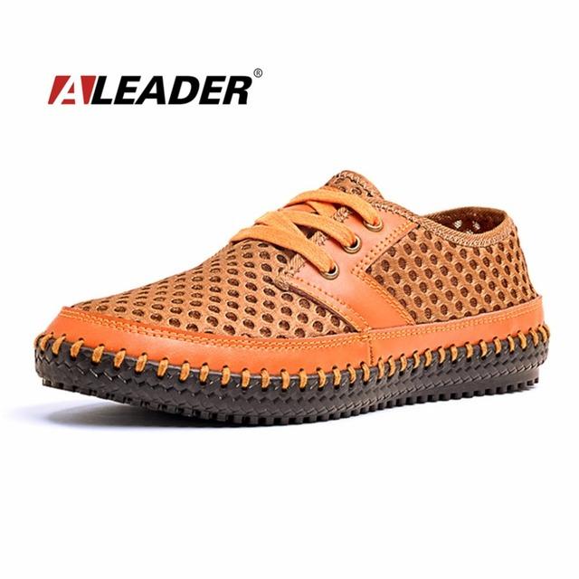 Воздухопроницаемой сеткой мужская обувь свободного покроя 2016 мода мужские летняя ...