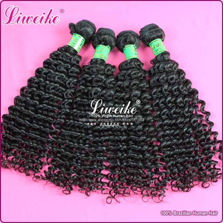 Wholesale price : brazilian virgin hair curl human hair extension 1kg/lot natural color good quailty