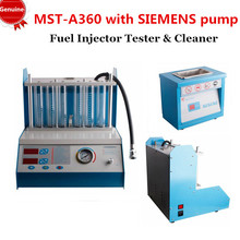 2015 Newest 100% English Panel Fuel Injector Tester & Cleaner Ultrasonic cleaning SIEMENS pump MST-A360 MST A360 FreeShipping(China (Mainland))