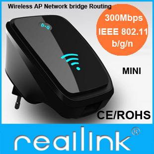 Reallink Wireless-N Router AP Repeater Booster WIFI Amplifier LAN Client Bridge IEEE 802.11 b/g/n 300Mbps MINI - Guangzhou Internet Technology Co. Ltd store