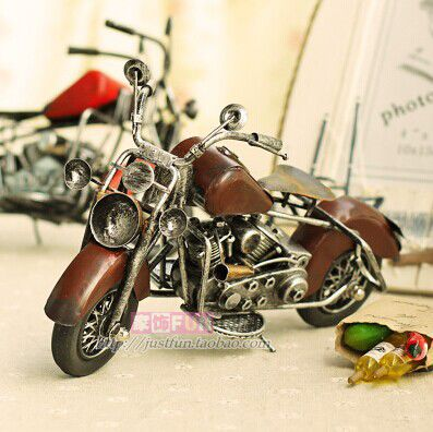 Fast free shipping high quality home decorations iron for Motorcycle decorations home