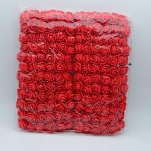 144 pçs/saco pompom buquê de rosas De Espuma para casa presentes de casamento decoração guirlanda de Natal Guirlandas diy scrapbooking flores artificiais(China)