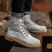 IPCCM 2018 En Najaar Nieuwe Mode Knappe Stiksels Hoge mannen Schoenen Casual Outdoor antislip Fashion Mannen's Schoenen(China)