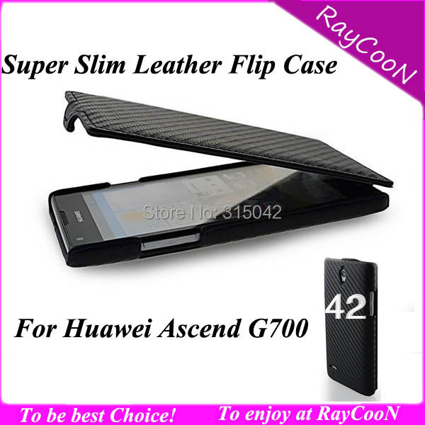 10pcs/lot Huawei G700 Super slim pu leather flip cover,PU Leather protective case for huawei ascend G700,mix color