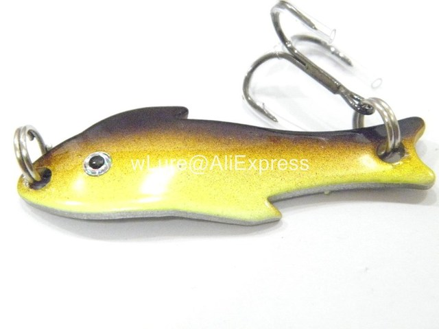 Buy spoon metal lures fishing lures hard for Walleye fishing tackle