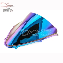 Buy Iridium Motorcycle ABS Plastic Windshield Colorful Windscreen For Suzuki GSXR600 GSXR750 GSX-R 2006-2007 K6 for $28.29 in AliExpress store