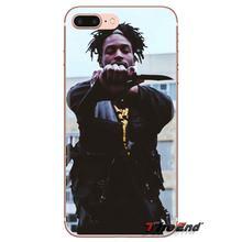 Para Samsung Galaxy A3 A5 A7 A9 A8 estrella A6 Plus 2018, 2015, 2016, 2017 Jazz Cartier Rap Hip Hop cubiertas de carcasa suave transparente de arte(China)