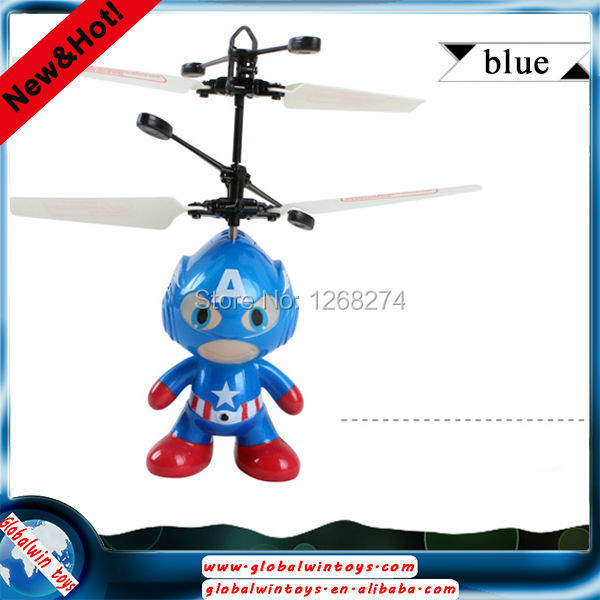 Upgrate ! Newest ! Big Sale ! Classic Electric Toys RC Flying spaceman Learning & Education radio control helicopter(China (Mainland))